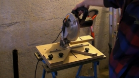 """Fixing Mitre Saw"" ""90° Chop Saw"" ""Mitre Cutting Jig"""