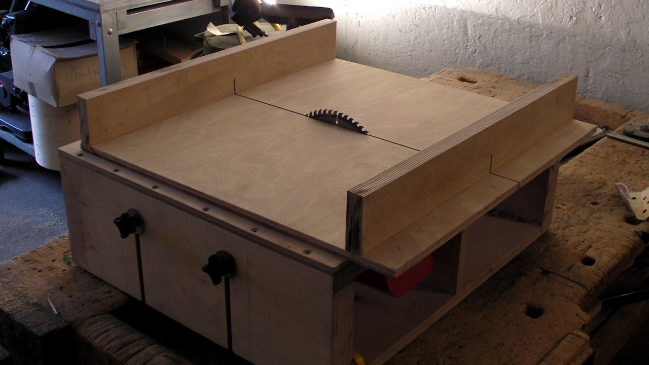 table saw build