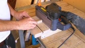 Mini Edge Sander - Belt Sander Stand