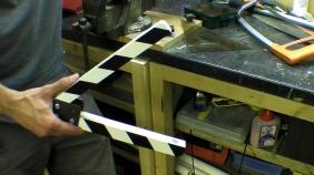 Clapperboard - Film Slate - Hidden Magnet and Iron on Melamine