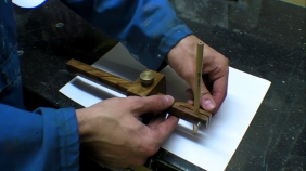 Marking Guage to Beam Compass