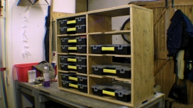 Shelving for Fixing Storage Organisers Stanley Sortmaster Junior