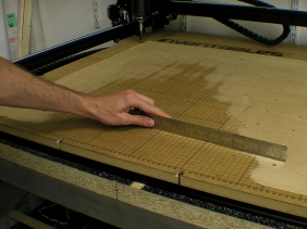 Levelling CNC Waste Board
