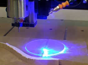 Cutting Glass With Blue Laser