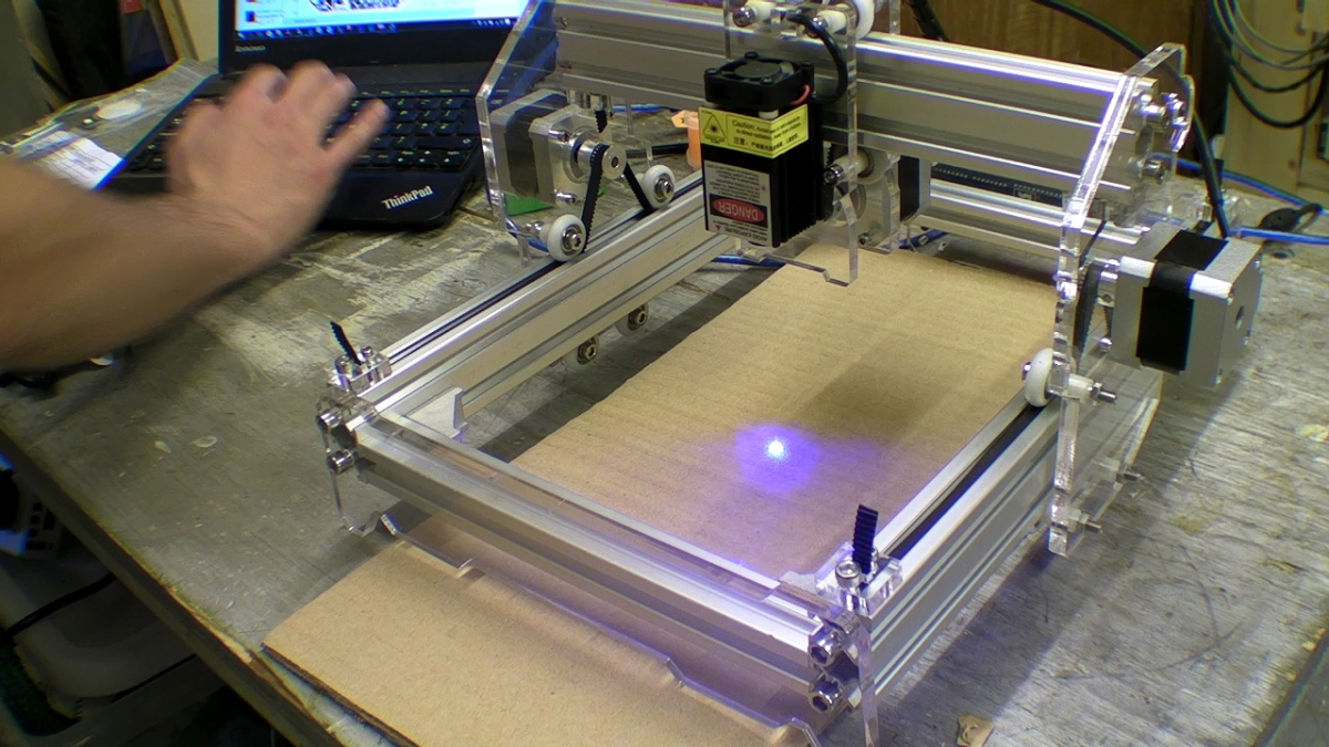 benbox laser engraver software settings