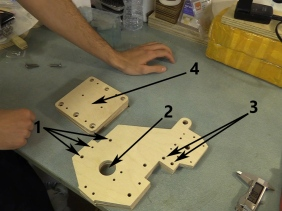CB CNC Part 2 - Finalised Y and Gantry Plates