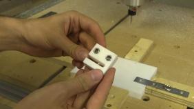 C-Beam CNC Part 3 - Making PTFE Anti-Backlash Nut Blocks and DIY ACME TR8x8x2 Tap