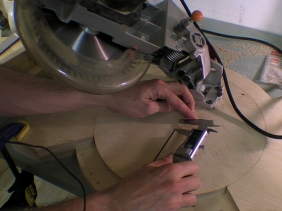 Building A Pivoting Mitre Saw Base - Part 1 / Parts and Positive Stops