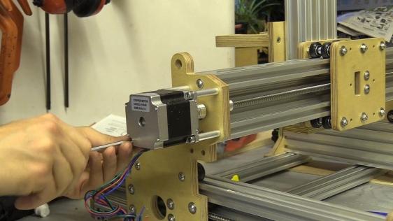 Installing Stepper Motors to CNC