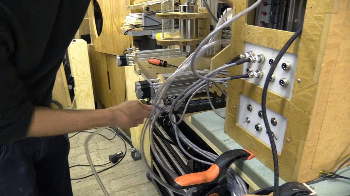 Cb Cnc Part 18 Connecting Machine To Controller Enclosure Wiring Savvas Papasavva
