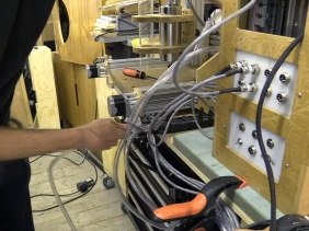 CB CNC Part 18 - Connecting CNC Machine to Enclosure