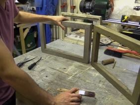 How To Make A Concrete Picture Frame Sculpture