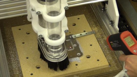 CB CNC Part 24 Hard Y Stops - Squaring CNC Machine - Fast Cutting Aluminium