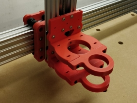 3D Printed CNC Machine Large Prototype and Assembly