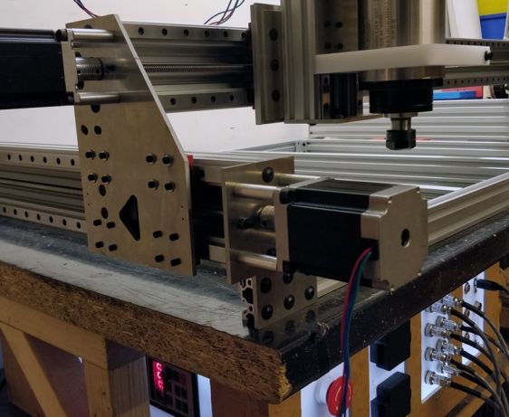 CB CNC Part 31 - MGN12 Linear Rails XYZ Axis Spindle Mount