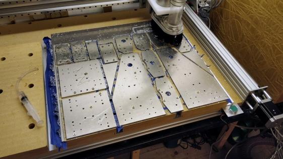 SFU1204 Ballscrew MGN12 Rail CNC Machine What I'm Working On