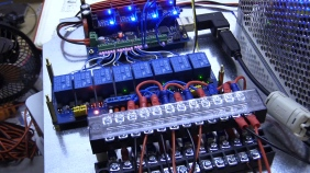 CNC Control Box Part 1 / Wiring Controller Board Inputs Buttons Limits & Steppers