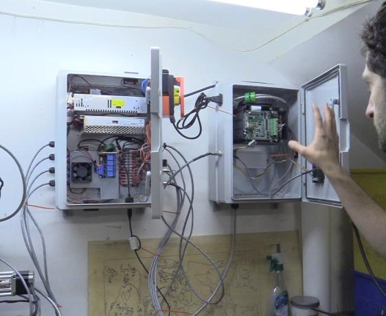 CNC Control Box Part 5 Frequency Drive (VFD) & Enclosure, Air Fans, Spindle Relay Module