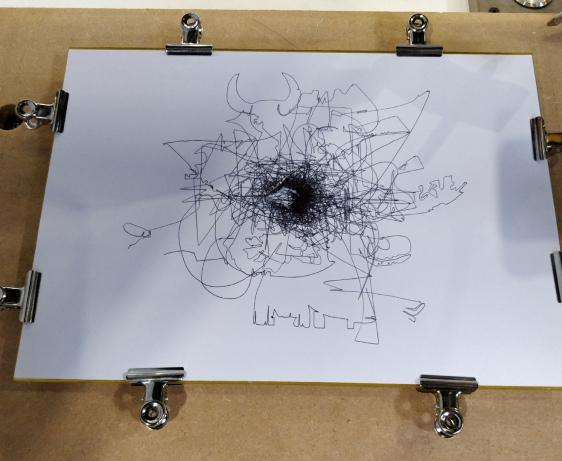 CNC Drawing Tools - 3D Printed Pen Plotter