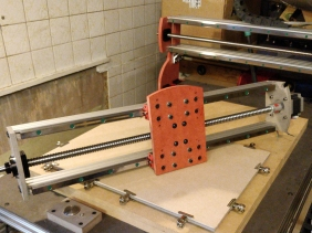 X Axis Linear Motion Actuator CNC HGR15 Rail Guide