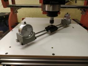 Dual Dial Gauge Tramming Tool CNC Spindle Settup
